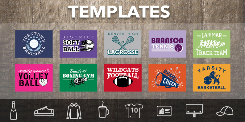 Online Product Customiser Templates