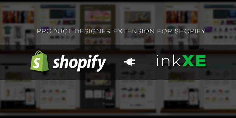 Product designer tool extension for Shopify