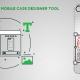 mobile case designer tool