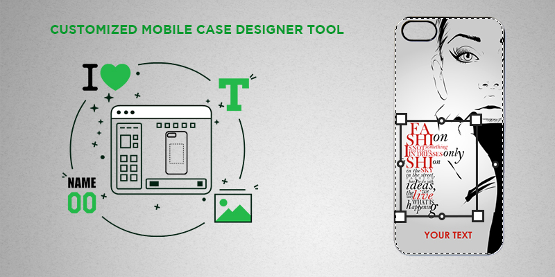 mobile case designer tool