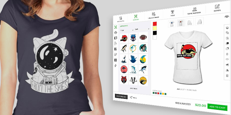 T Shirt Design Software For All Printshops And Ecommerce Platforms