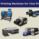 Top 10 DTG Printing Machines for Your Print Business