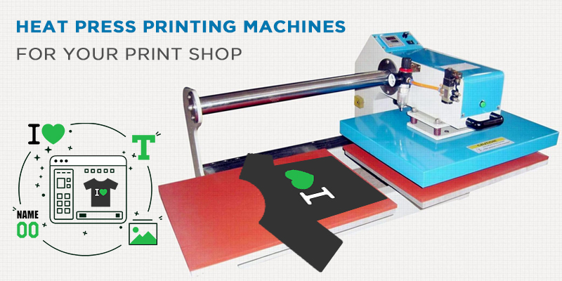 Top 10 Heat Press Printing Machines for Print Shop
