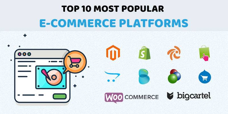 Top 10 Most Popular eCommerce Platforms in 2019