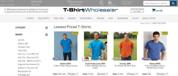 T-ShirtWholesaler