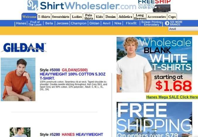 Shirt Wholesaler