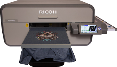 521f5813 This is the industrial DTG printer from Ricoh and is the latest since its  acquisition of Anajet. The printer has a smaller footprint with a larger  printable ...