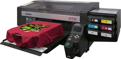 365bd297 The GTX is the latest industrial DTG printer from Brother that features  faster print speeds, advanced print heads, and vibrant color output.