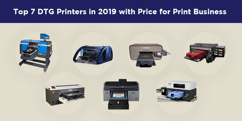 Top 10 DTG Printers with Pricing for Your Print Business - inkXE