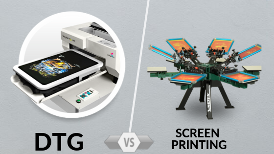 DTG or Screen Printing, What Is Best For You?