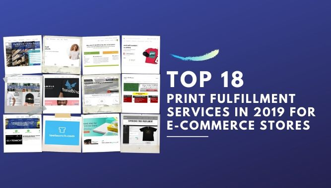 Print Fulfillment Services for E-commerce Stores