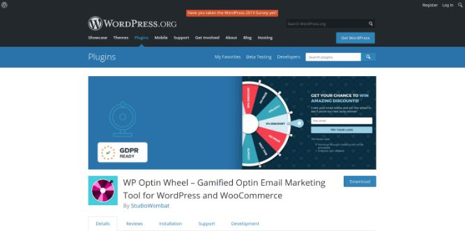 WP Optin Wheel
