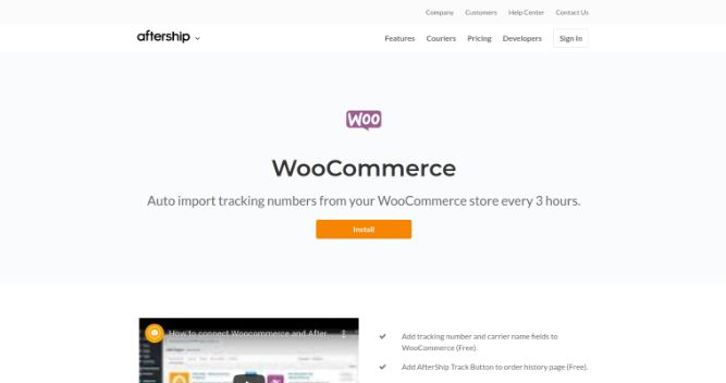 AfterShip Plugin-Top 14 Best Woocommerce Plugins for Your Online Store