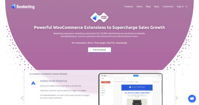Beeketing Plugin-Top 14 Best Woocommerce Plugins for Your Online Store