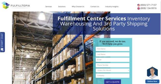 Fulfilltopia- Print Fulfillment Center