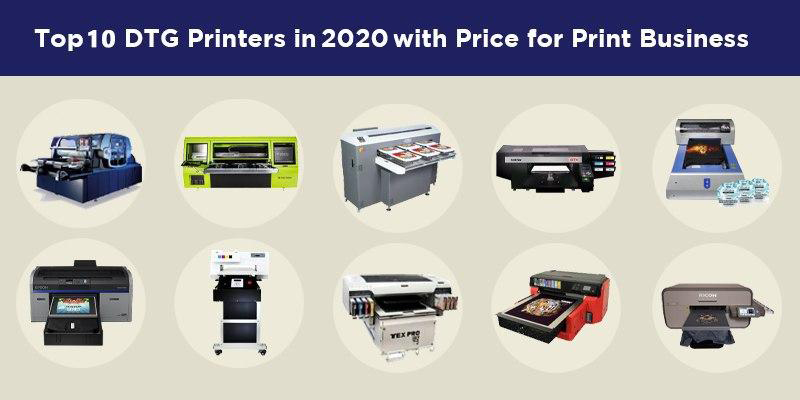 Top 10 DTG printers for 2020