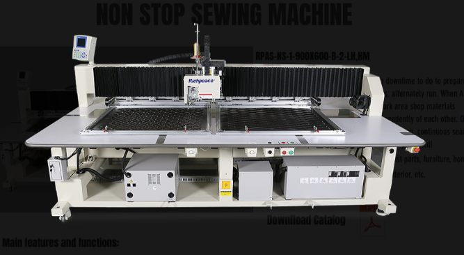 Richpeace NON-STOP Automatic Sewing and Embroidery System