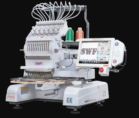 SWF MAS-12 Embroidery Machine