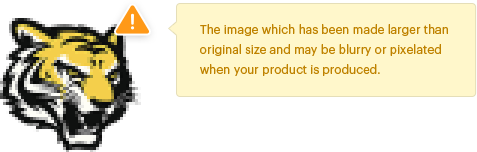 inkXE low resolution warning