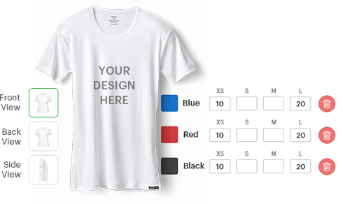 Edit product color and size