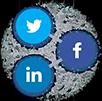 Social media share logo