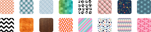 Swatches and background designs