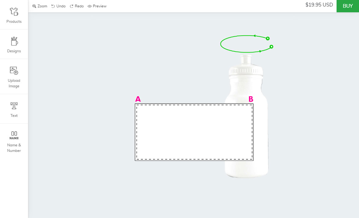 Bigcommerce bottle designer tool