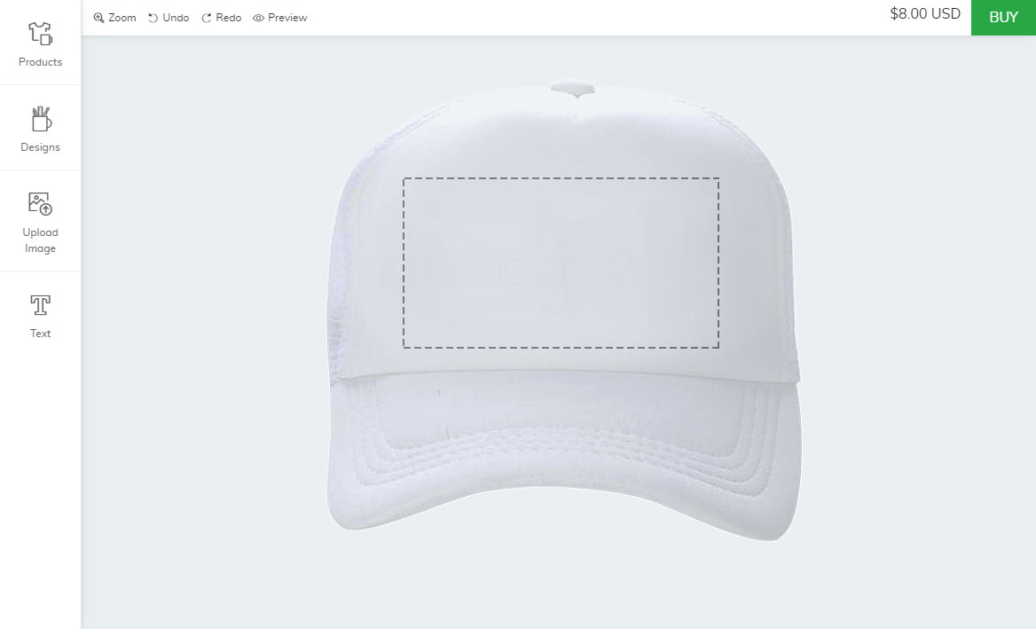 Shopify cap customizer plugin