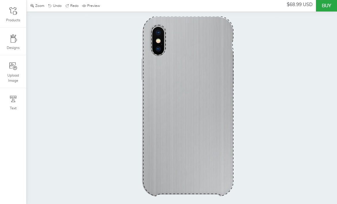 Bigcommerce phone case designer app