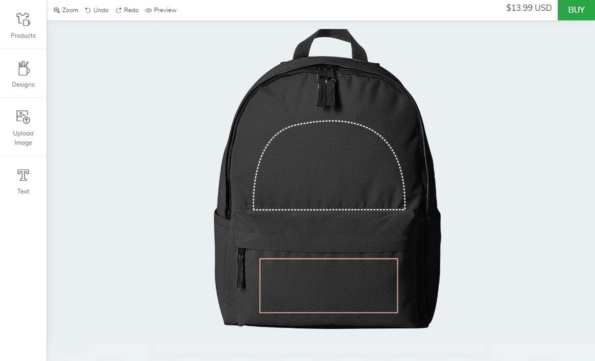 Zoey tote bag designer module