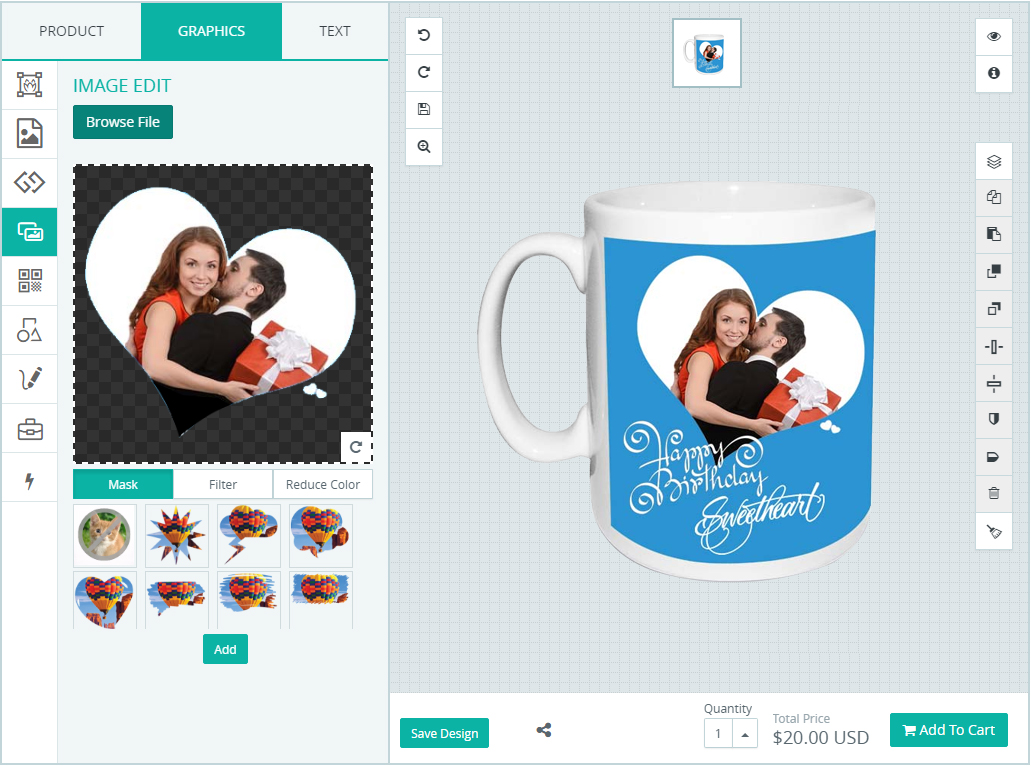 add text and image in sublimation printing inkxe